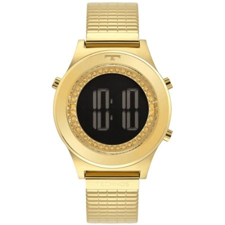 Relógio Technos Feminino Classic Dourado Digital BJ3927AA1C