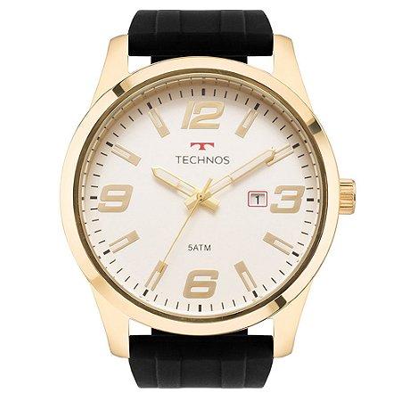 Relógio Technos Masculino  Dourado Analógico 2115MOMS8B