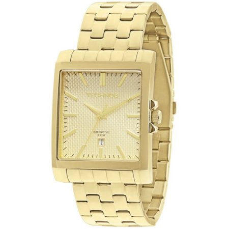 Relógio Technos Masculino Classic Dourado Analógico 2115KOZ4X