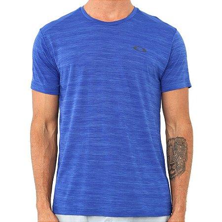 Camiseta Oakley Trn Vapor Essential Ss Azul Masculino