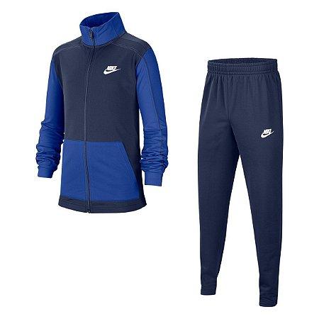 Agasalho Nike Core Ftr Play Trk Azul Marinho Infantil