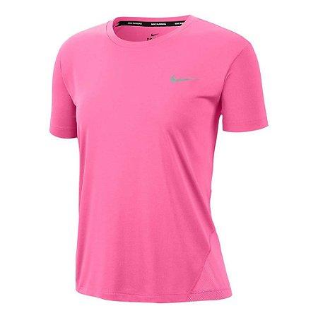 Camiseta Nike Miller Top Ss Rosa Feminino