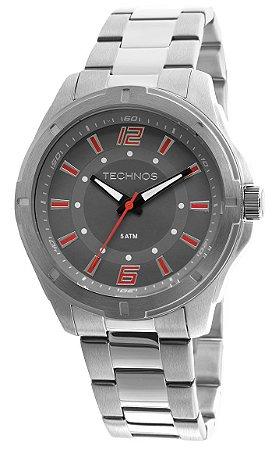 3a24393e046e8 Relógio Technos 2036LOD 1R Prata - Vanglore - Relógios e Pulseiras