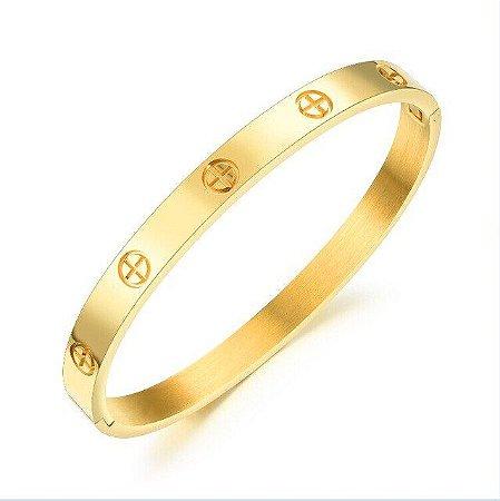 Bracelete Vanglore 1252 Dourado