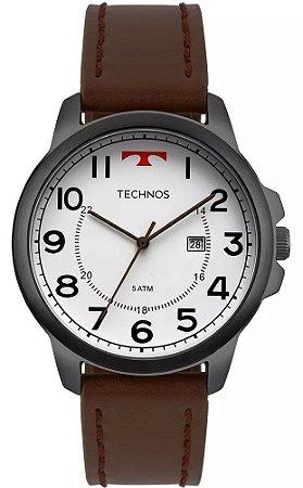1fb02dfa925 Relógio Technos 2115MPB2B Pulseira de Couro Marrom
