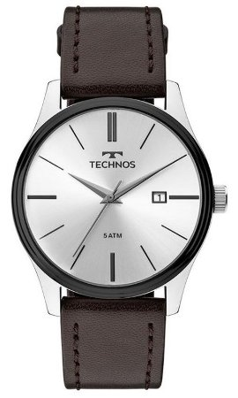 Relógio Technos 2115MPP1K Pulseira de Couro Marrom