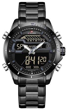 Relógio Naviforce 9133 Preto