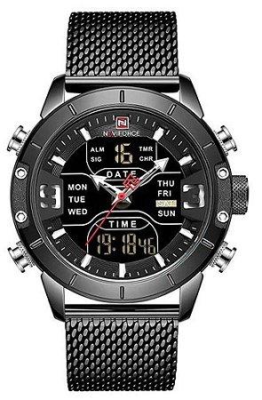 Relógio Naviforce NF9153 Preto