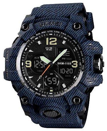 Relógio Skmei 1155 Azul
