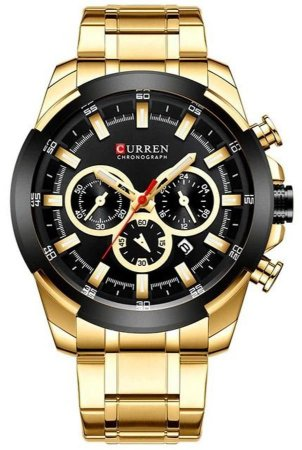 Relógio Curren 8361 Dourado