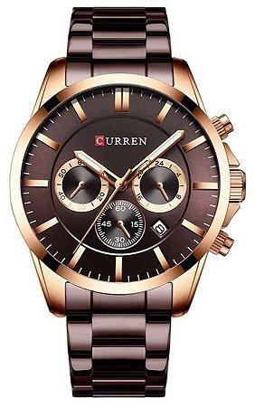 Relógio Curren 8358 Chumbo