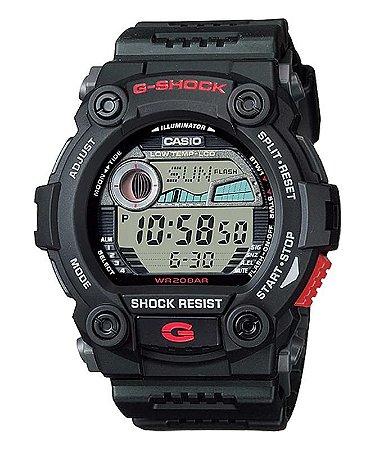 Relógio G-Shock G79001DRU Preto e Vermelho