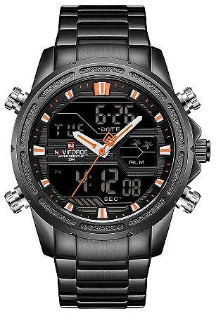 Relógio Naviforce 9138 Preto