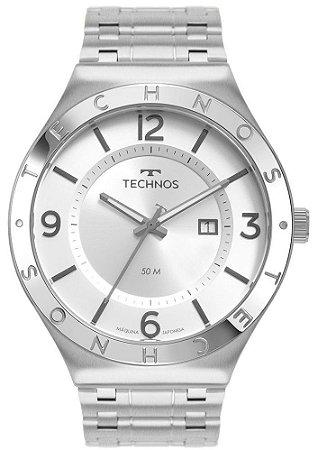 Relógio Technos 2117LBT1K Prata
