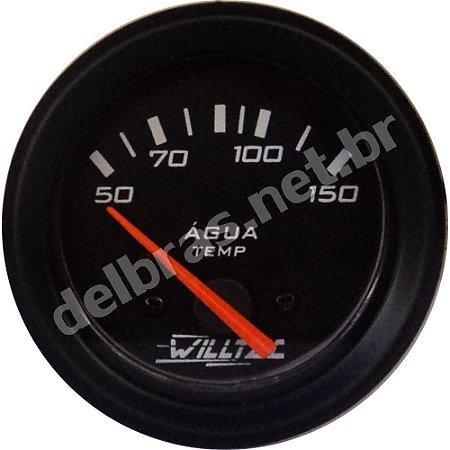 Termômetro da Água Elétrico 50-150°C 24V ø52mm - UNIVERSAL