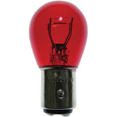 Lampada 2 Polos Vermelho Pino Reto 5/21w 12v AVX