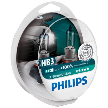 Lampada HB-3 X-treme Vision 100% Philips 55w 12v