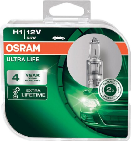 Lampada H1 Ultralife Osram 55w 12v