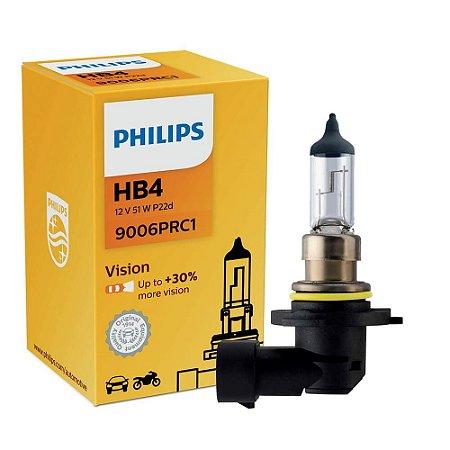 Lampada HB4 Philips 55w 12v cada