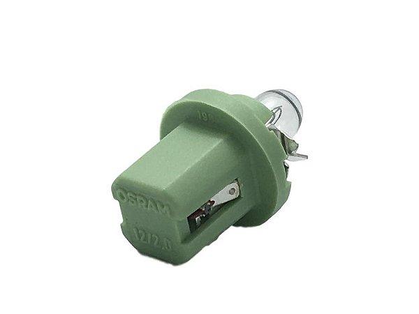 Soquete Verde com Lampada 2w 12v Osram