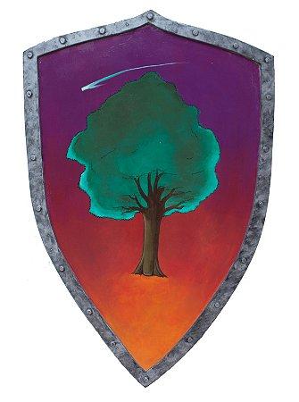 Escudo Duncan Game of Thrones (Réplica de Madeira)