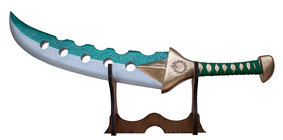Tesouro Sagrado do Meliodas Lostvayne Nanatsu No Taizai (Réplica de Madeira)