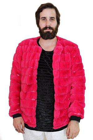 Jaqueta Urso Pink