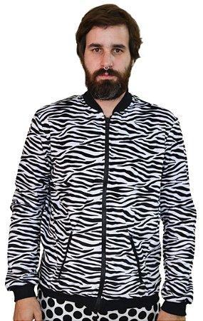 Jaqueta Veludo Zebra