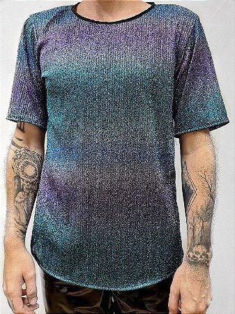 Camiseta Degradê Azulada