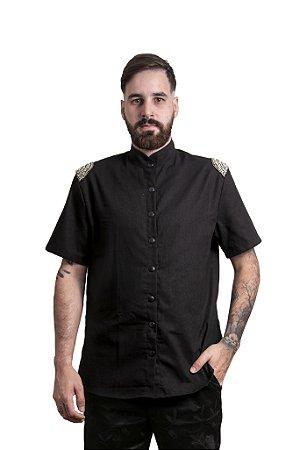 Camisa Adorno Black