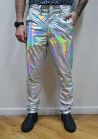 Calça Fluor Holográfica