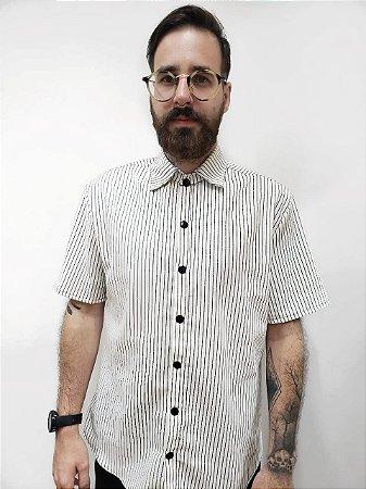 Camisa Listras Negras