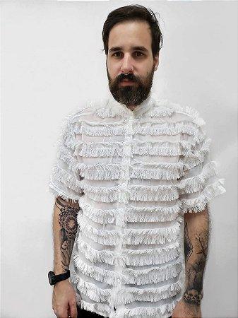 Camisa Franja Branca
