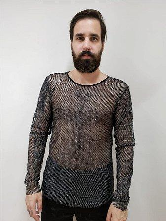 Camiseta Rede Prata
