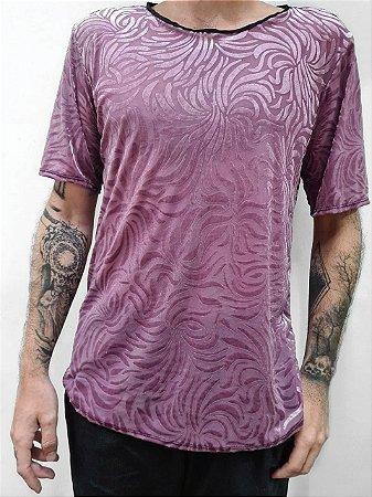 Camiseta Devorê Rosa
