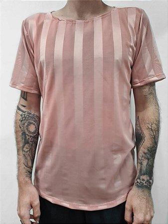 Camiseta Tupi Rosa