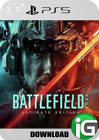 Battlefield 2042 PS5 Edição Ultimate - Mídia Digital
