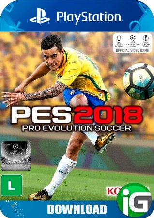 Pro Evolution Soccer 18 (PES) - PS4