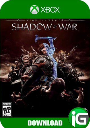 Shadow Of War - Terra Média Sombras da Guerra - XBOX ONE