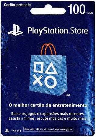 PSN CARD R$ 100
