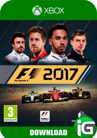 F1 2017 Formula 1 - XBOX ONE