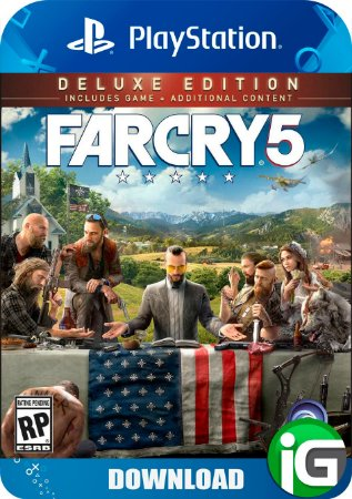 Far Cry 5 Deluxe Edition - PS4