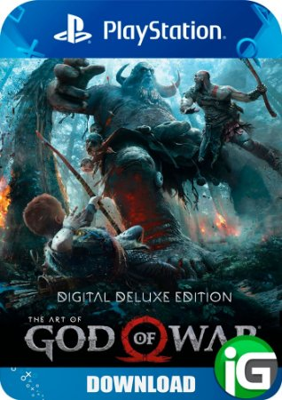 God Of War 4 Digital Duluxe Edition - PS4