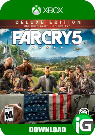 Far Cry 5 Deluxe Edition - Xbox One