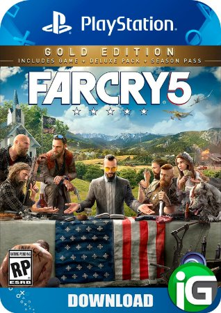 Far Cry 5 Gold Edition - PS4
