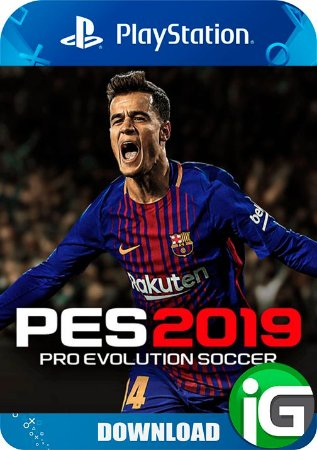 Pro Evolution Soccer (PES) 19 - Ps4