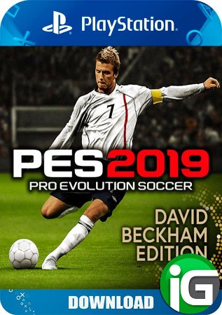 Pro Evolution Soccer (PES) 19 David Beckham Edition - Ps4