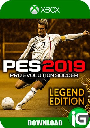 Pro Evolution Soccer (PES) 19 Legend Edition - Xbox One