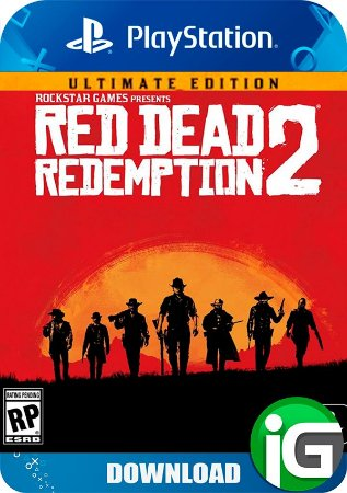 Pré-Venda Red Dead Redemption 2 Ultimate Edition - PS4