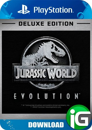 Jurassic World Evolution Deluxe Edition - PS4